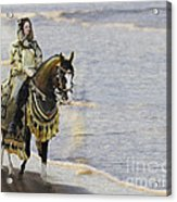 Queens War Horse Acrylic Print