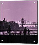 Queensboro Bridge 1 - Manhattan - New York Acrylic Print