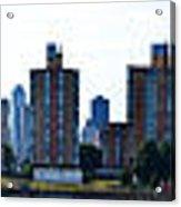 Queensboro Bridge / Roosevelt Island Panorama Acrylic Print