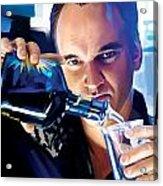 Quentin Tarantino Artwork 1 Acrylic Print