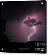 Questioning The Thunderstorm Acrylic Print