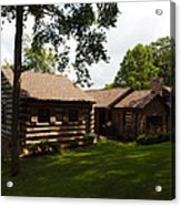 Quiet Cabin On A Hill Acrylic Print
