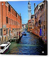 Quiet Canal Acrylic Print