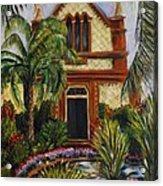 Quiet Chapel Acrylic Print