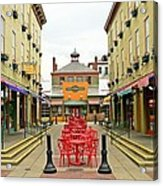Quiet Day at Findlay Market Acrylic Print