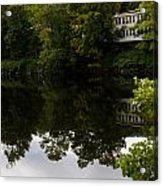 Quiet Lake In The Berkshires Acrylic Print