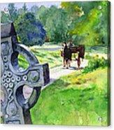 Quiet Man Watercolor 2 Acrylic Print
