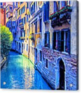Quiet Morning In Venice Acrylic Print