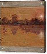 Quiet Pond Acrylic Print