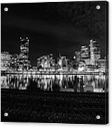 Quiet Streets On Quiet Night Acrylic Print