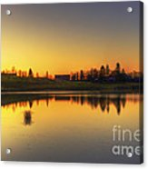 Quiet Sunrise.. Acrylic Print