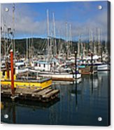 Quiet Time At The Harbor Acrylic Print