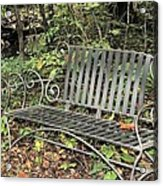 Quiet Time At The Park. Acrylic Print
