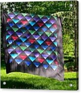 Quilt Top In The Breeze Acrylic Print