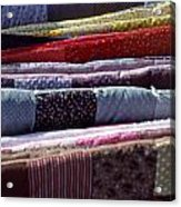 Quilts Acrylic Print