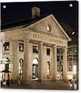 Quincy Market Boston Acrylic Print