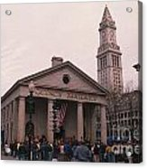 Quincy Market - Boston Massachusetts Acrylic Print