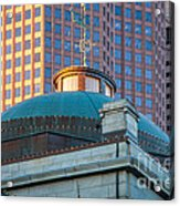 Quincy Market Dome Acrylic Print