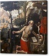 Quispe Tito, Diego 1611-1681. Saint Acrylic Print
