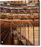 Quite Time Chicago United Center Before The Gates Open Vertical Acrylic Print