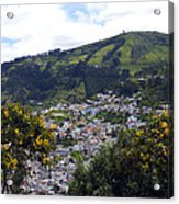Quito From El Panecillo Acrylic Print