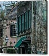 Quuen Street In Charleston Sc Acrylic Print