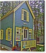 R Blue Heaven In Asbury Grove In South Hamilton-massachusetts Acrylic Print