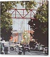 R Street Acrylic Print