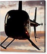 R44 At Sunset Acrylic Print
