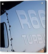 R66 Reflection Acrylic Print by Paul Job