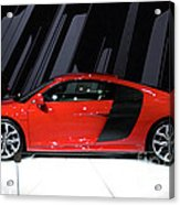 R8 In Red Acrylic Print by Alan Look
