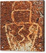 Shaman Petroglyph C Acrylic Print