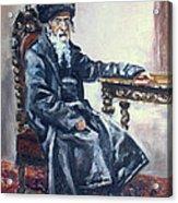 Rabbi Meisels Acrylic Print