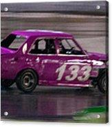 Race Car Acrylic Print