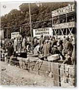 Race Cars Crown Point Indiana June 19 1909 Acrylic Print