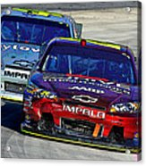 Race Day 1 Acrylic Print