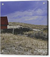 Race Point Light Shed Acrylic Print