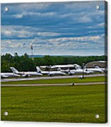 Race Week 2014 Pocono Airport  Acrylic Print