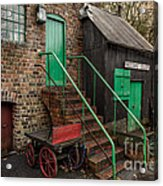 Racecourse Colliery  Acrylic Print by Adrian Evans