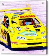 Racer Acrylic Print