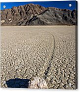 Racetrack In Death Valley National Park Acrylic Print