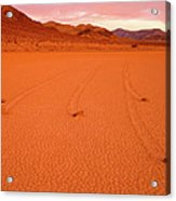 Racetrack Valley Death Valley National Park Acrylic Print