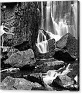Rachel At Beartooth Falls Acrylic Print