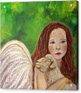 Rachelle Little Lamb The Return To Innocence Acrylic Print