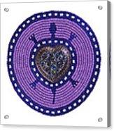 Purple Valentine 2011 Acrylic Print