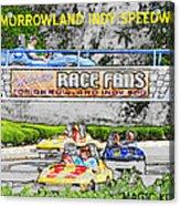 Racing Dreams Acrylic Print
