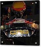 Racing Kart Acrylic Print