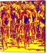 Racing Pelaton Acrylic Print