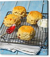 Rack Of Scones Acrylic Print