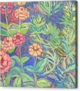 Radford Library Butterfly Garden Acrylic Print